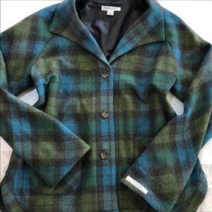 Pendleton Wool Plaid jacket coat L